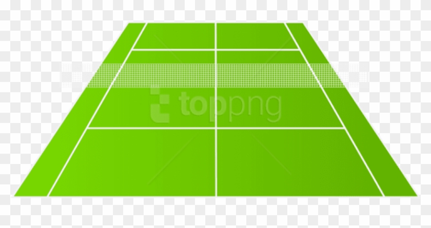 Tennis Court Free Png, Transparent Png.