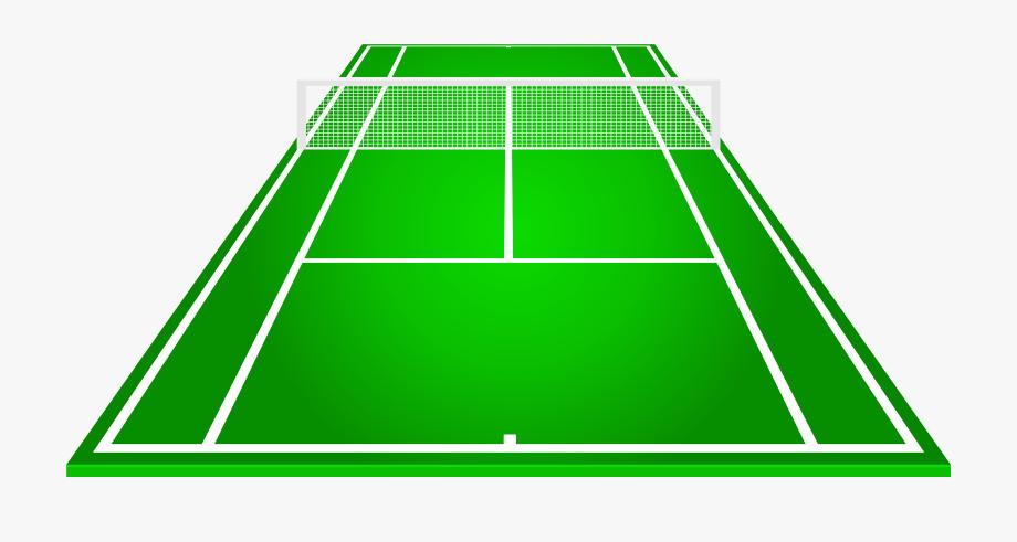 Tennis Court Png Clipart.