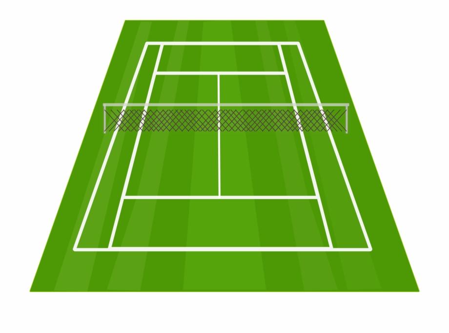 Lawn Tennis Clipart Danasokd Top.