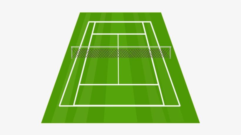 Tennis Clipart Tennis Court.
