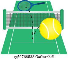 Tennis Court Clip Art.