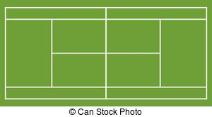 Tennis courts clipart 2 » Clipart Station.