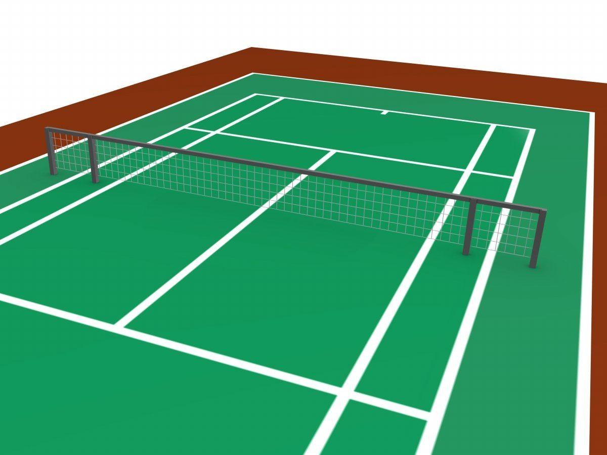 Tennis Court Clipart.