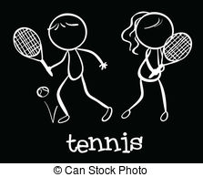 Tennis doubles Clipart Vector and Illustration. 217 Tennis.