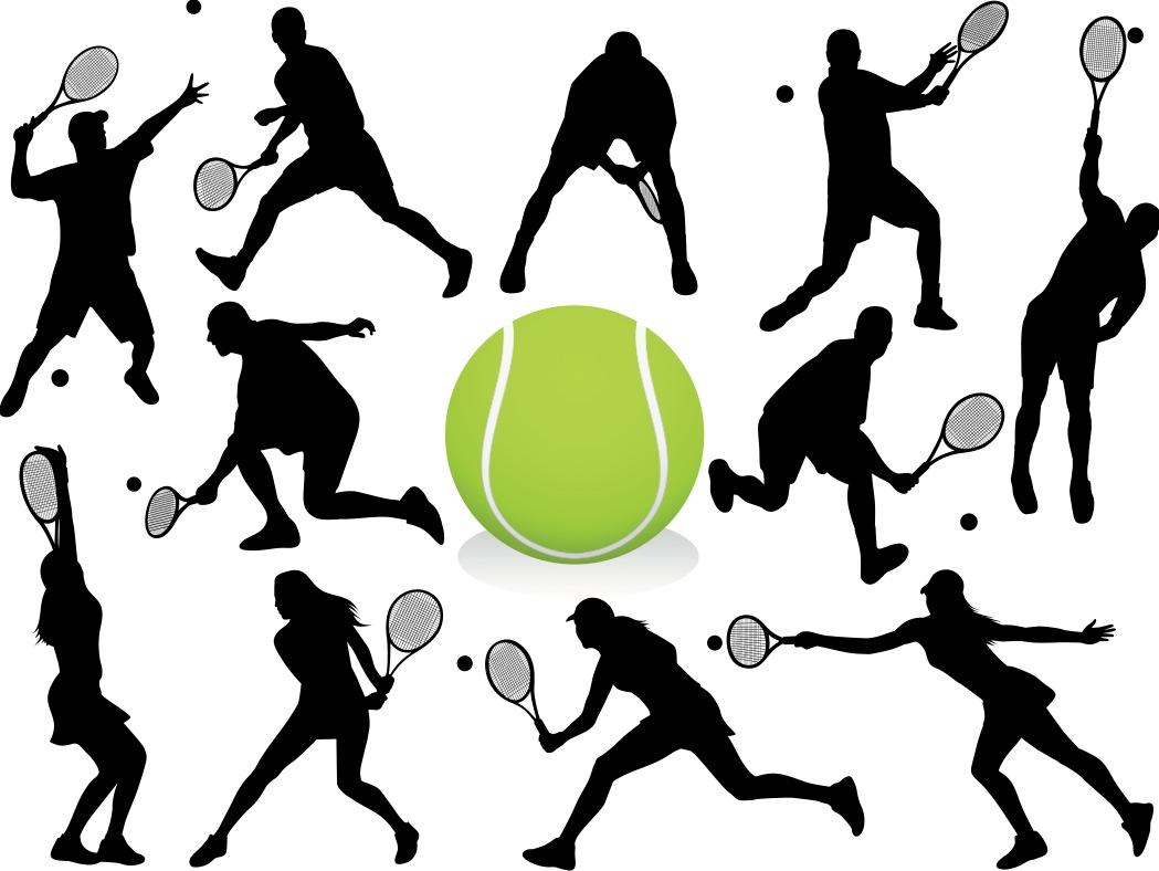 Free Tennis Graphic, Download Free Clip Art, Free Clip Art.