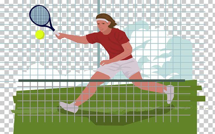 Tennis Centre Euclidean PNG, Clipart, Cartoon, Fundal, Grass.
