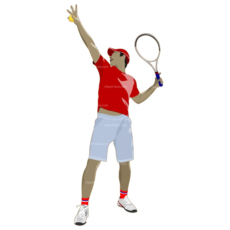 Tennis Player Clipart Worshiper B.