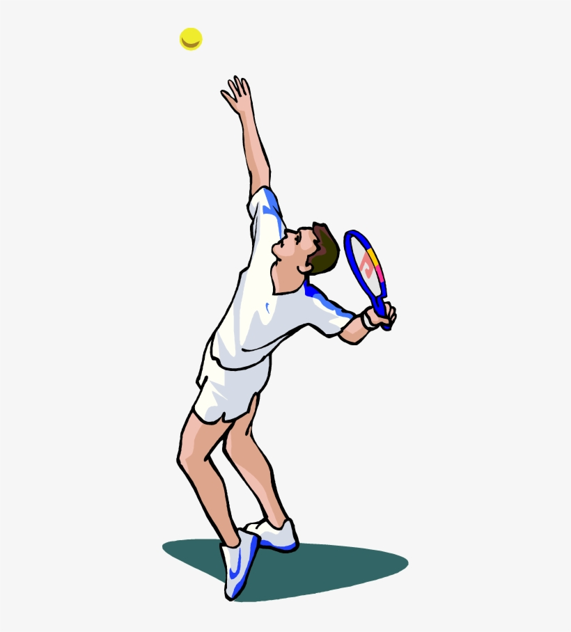 Free Tennis Player Vector Clip Art Image From Free.