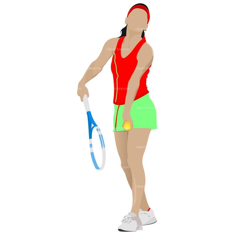 21+ Tennis Player Clipart.