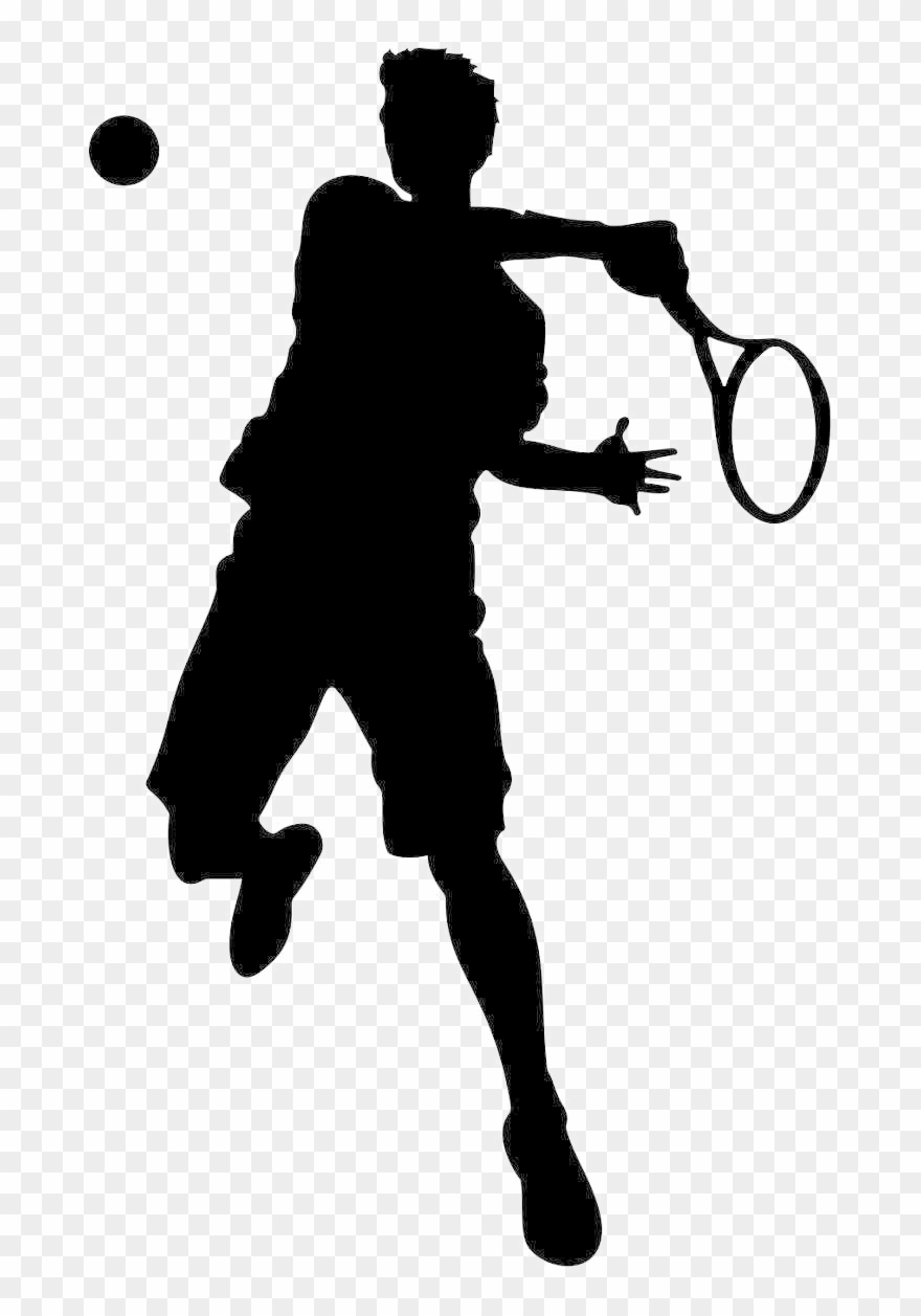 Tennis Player Png Image Background.