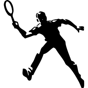 Tennis Player clipart, cliparts of Tennis Player free.