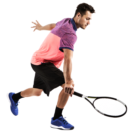 Tennis Player PNG Photo.