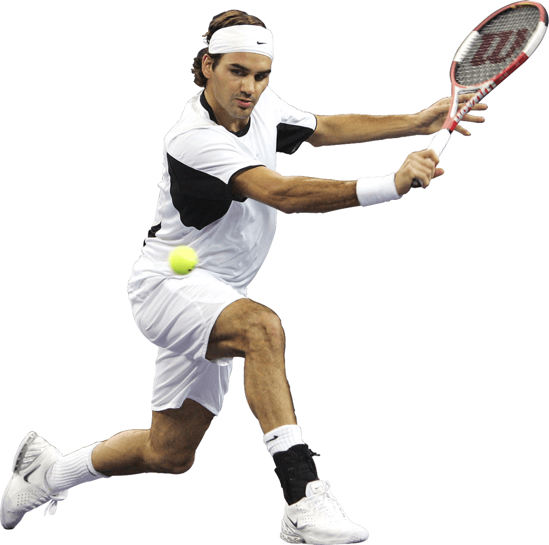 Tennis Player Man transparent PNG.