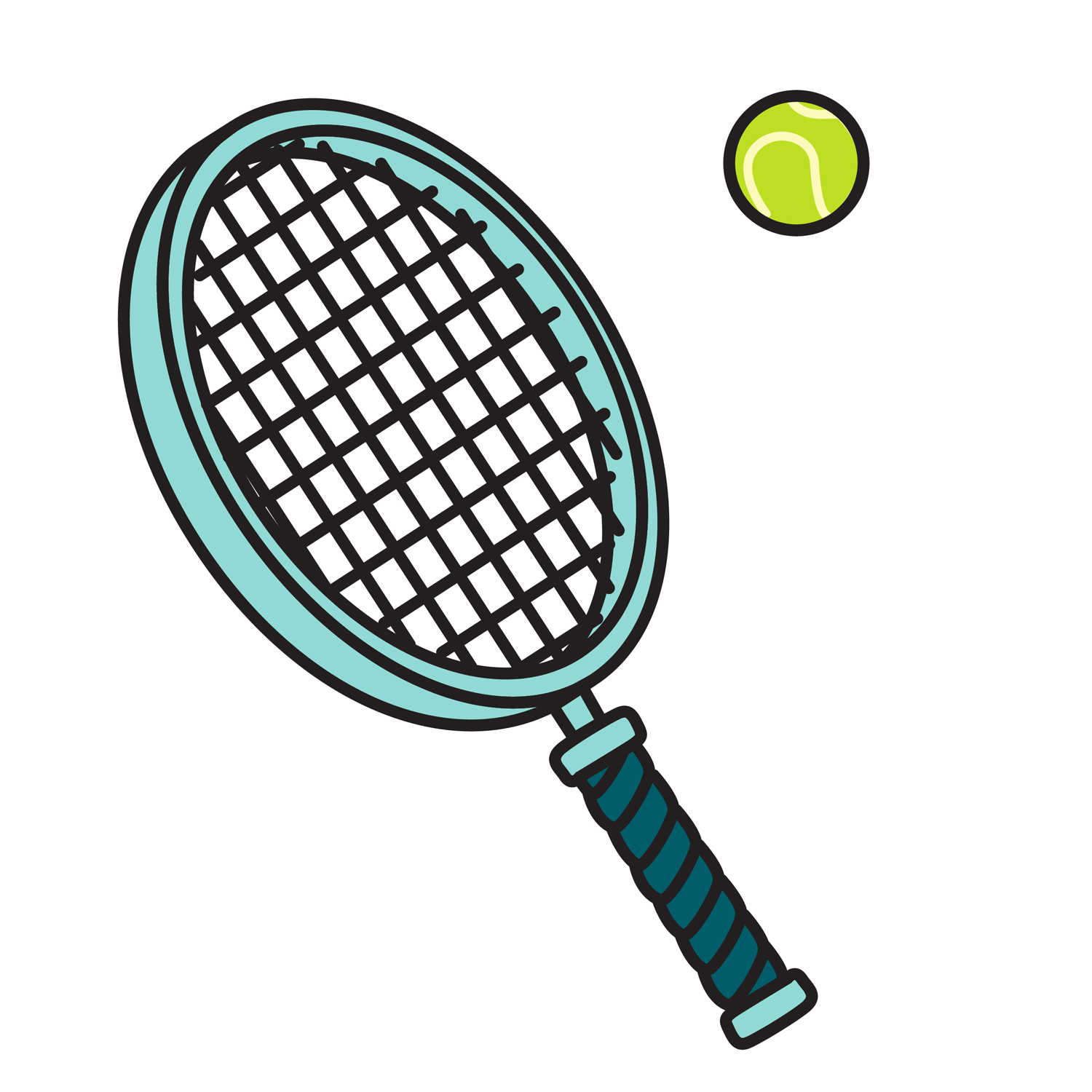 Free Tennis Racket Cliparts, Download Free Clip Art, Free.