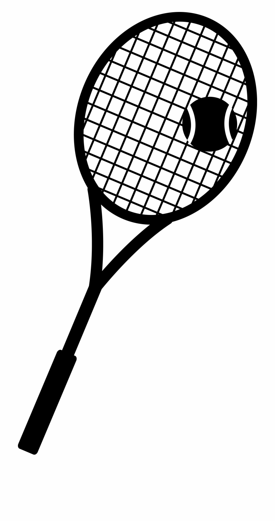 Crossed Tennis Racket Images Free Download Clipart.