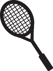Tennis Racket Clipart.