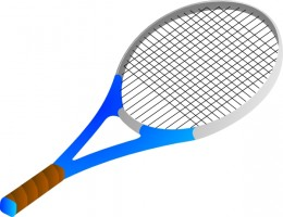 Clipart Tennis Racket And Ball.