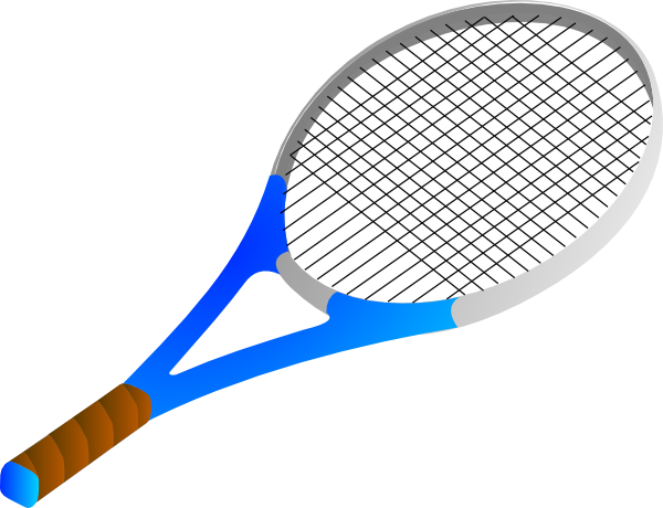 Tennis Racket And Ball Clipart.