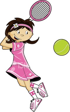 Showing post & media for Girl tennis cartoon.