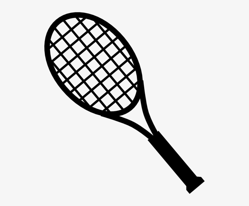 28 Collection Of Tennis Bat Clipart.