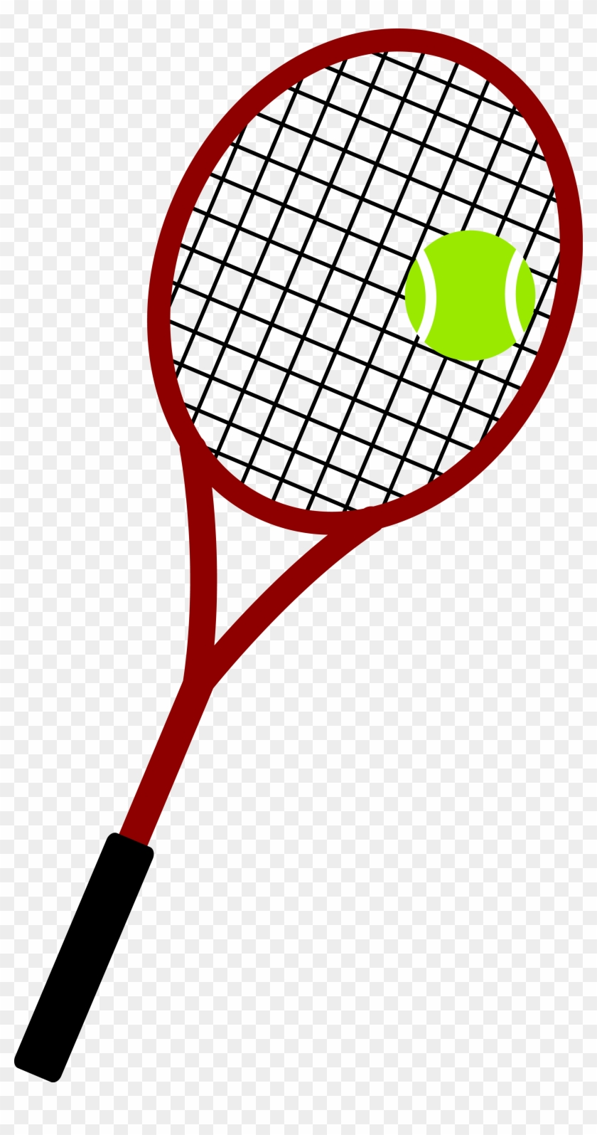 Tennis Ball And Racket Png Image.