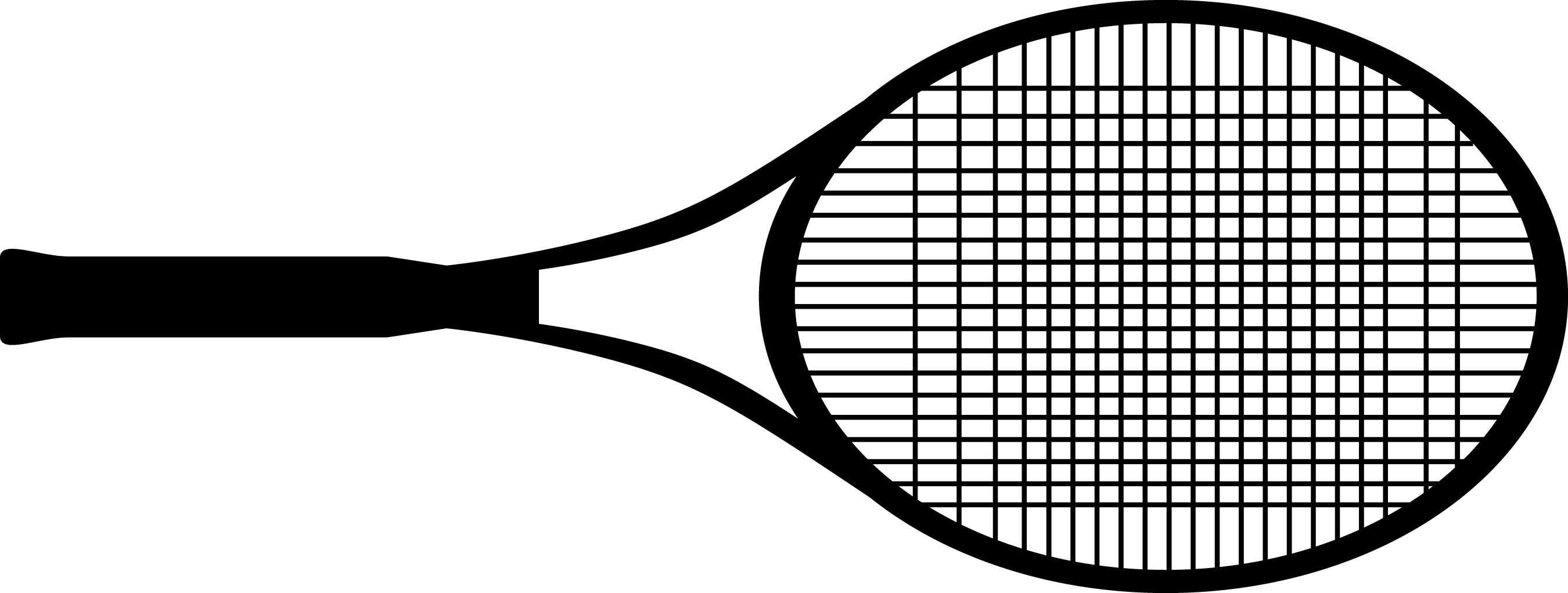 55+ Tennis Racquet Clip Art.