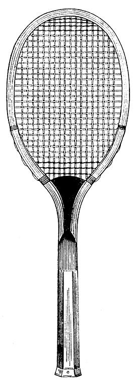 Free Tennis Racket Clip Art.