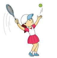15+ Tennis Player Clipart.