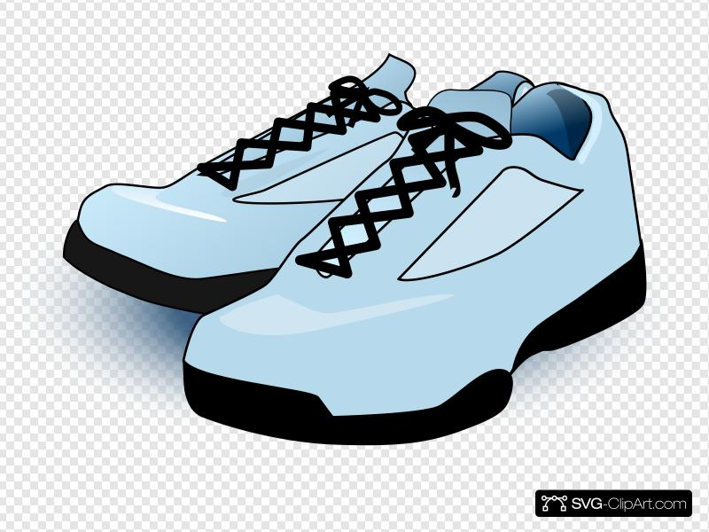 Tennis Shoes Clip art, Icon and SVG.