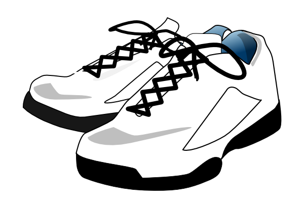 Tennis, Shoes Clip Art at Clker.com.