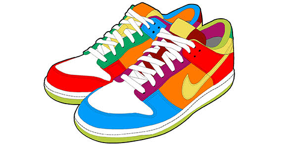 Free Tennis Shoes Clipart, Download Free Clip Art, Free Clip.