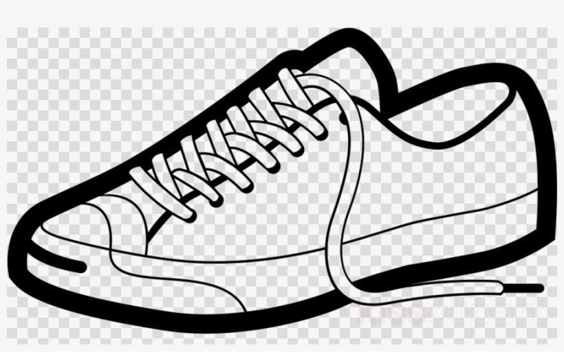 Download Free png Cartoon Tennis Shoe Clipart Sports Shoes.