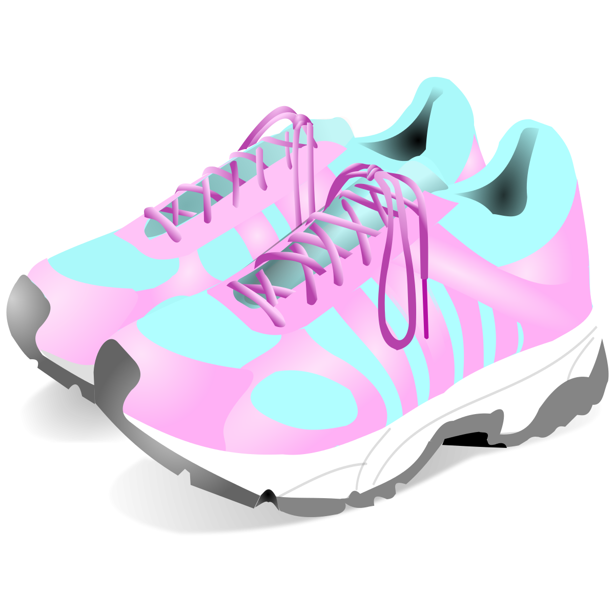 Tennis Shoes Clipart Clipground