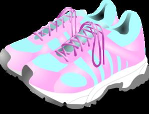 Gym Shoes Clipart.