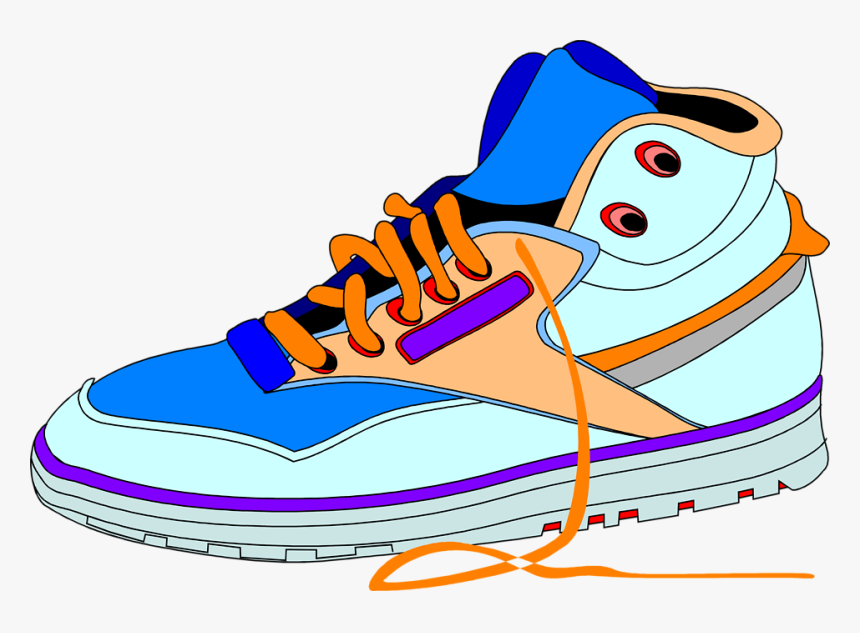 Shoe Clip Art Of Sneakers With Heart Clipart Kid.