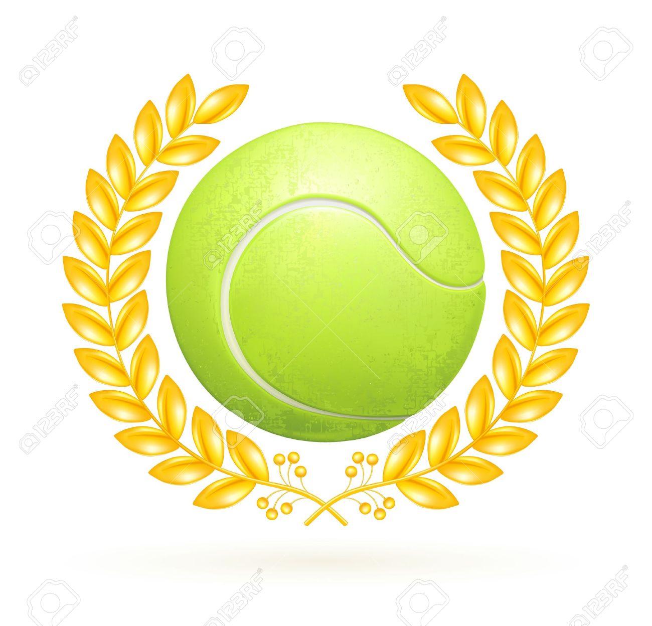 Tennis Trophy Clipart.