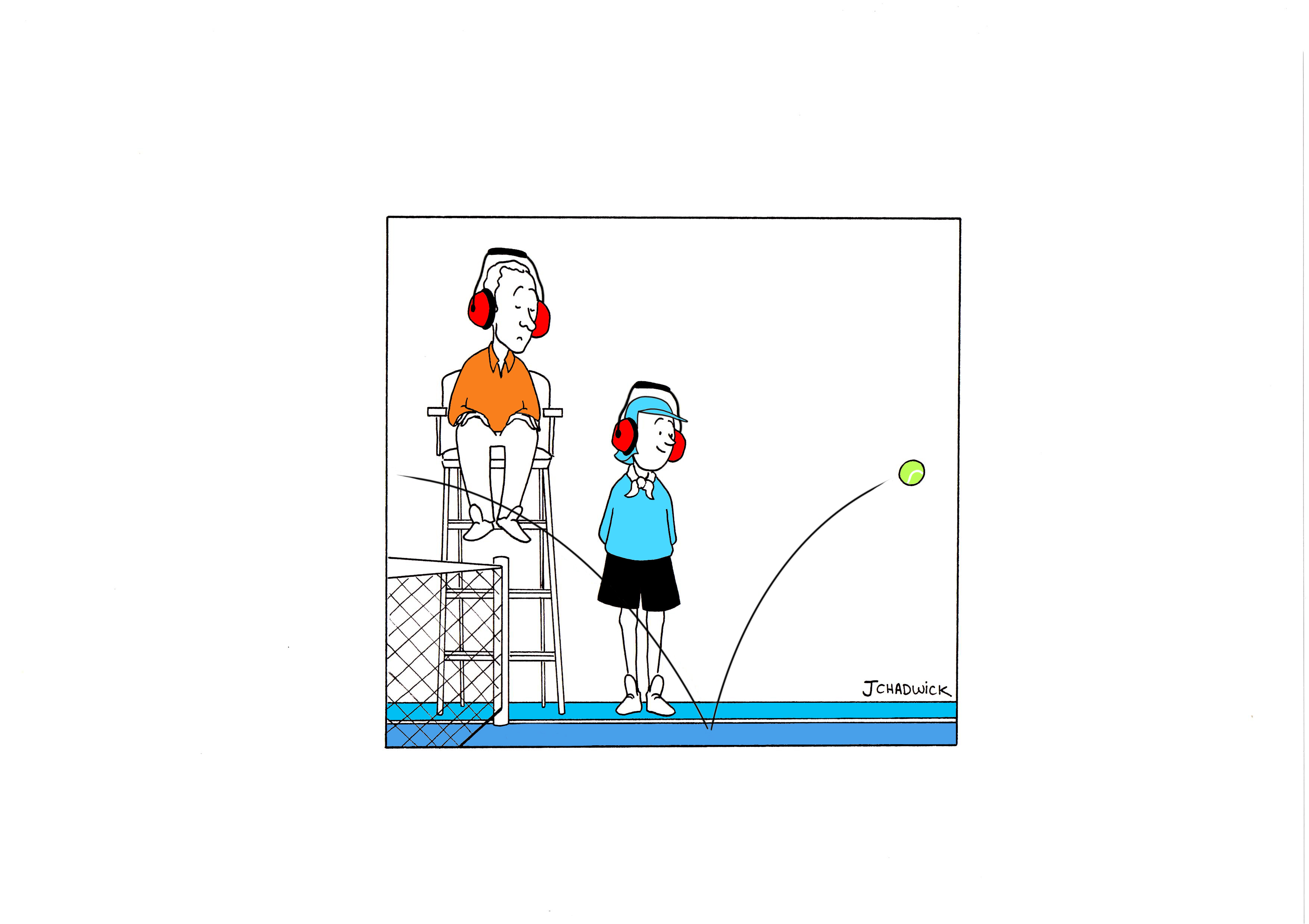 tennis umpire clipart #3