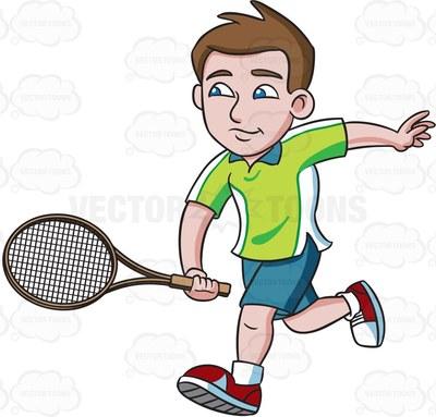 chair umpire Cartoon Clipart.