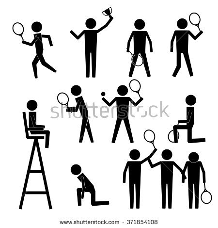 Tennis Umpire Stock Images, Royalty.