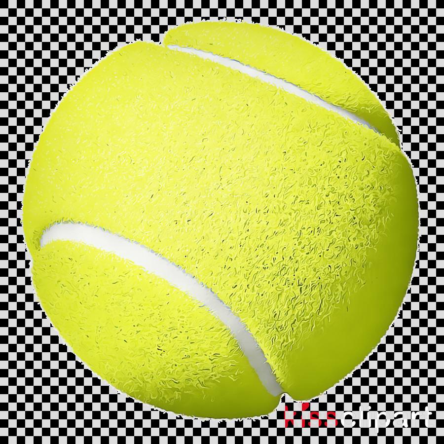 Tennis ball clipart.