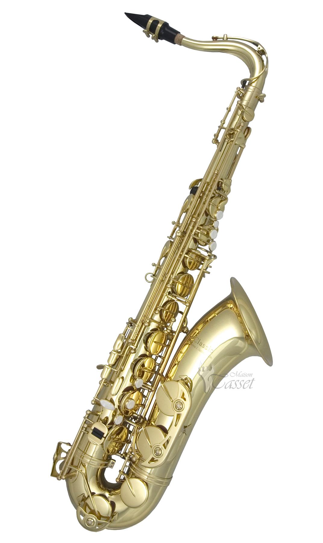 Tenor Saxophone Clip Art Classic.