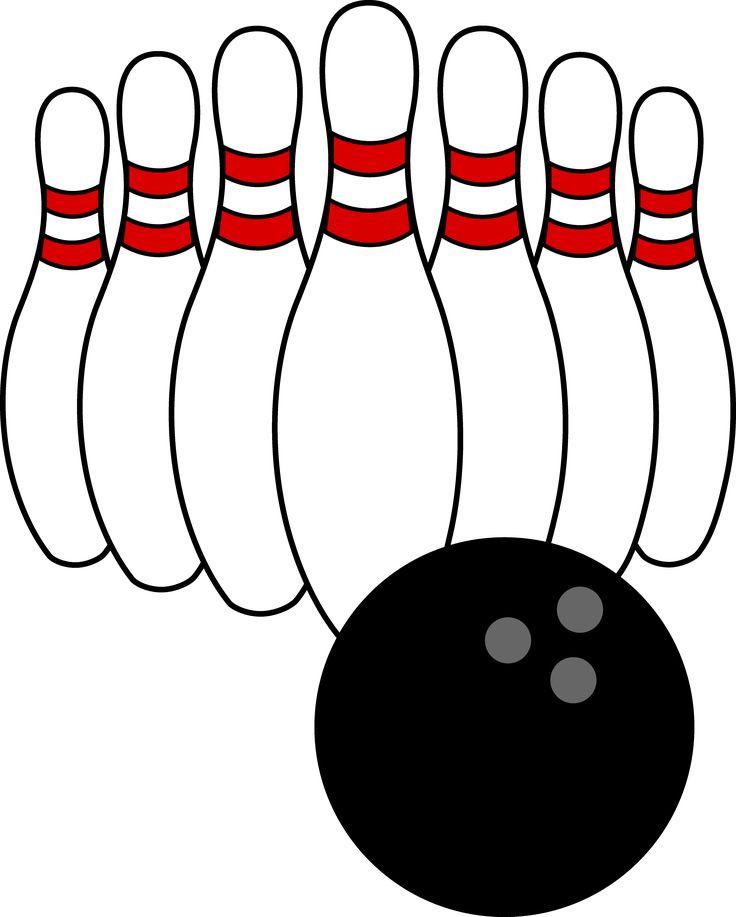 Clipart ten pin bowling.