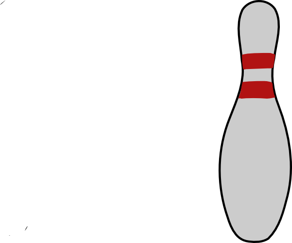 Pin Bowling Template.