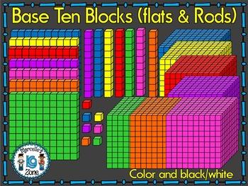 BASE TEN BLOCKS.