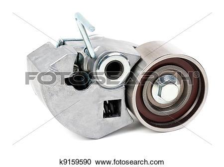 Stock Photography of Belt tensioner for V.
