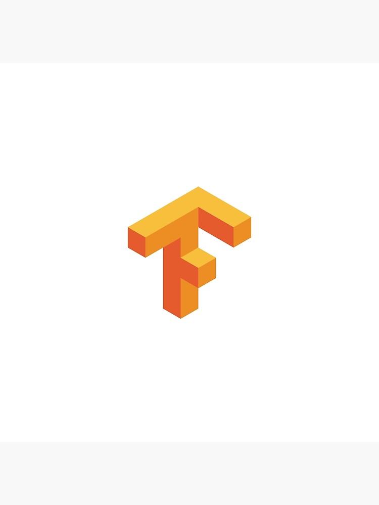 \'Tensorflow Logo\' Art Board Print by Programming Swag.