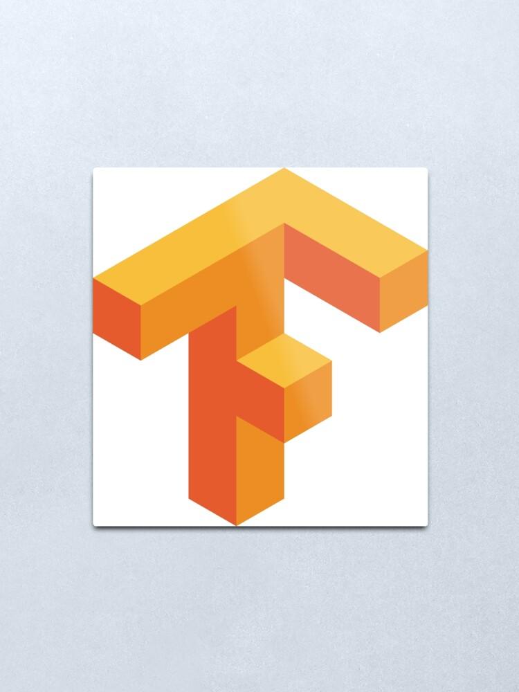 TensorFlow logo.