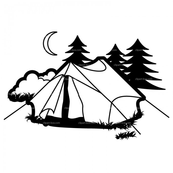 Tent And Campfire Images Image Png Image Vector, Clipart.