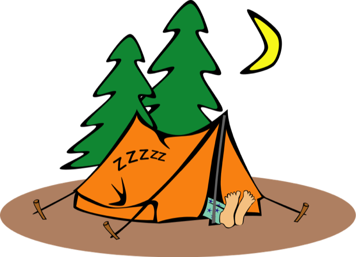 Camping Clipart.