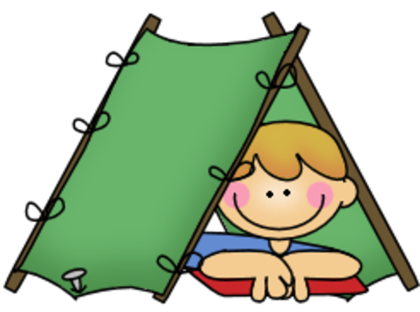 Clipart tent camping.